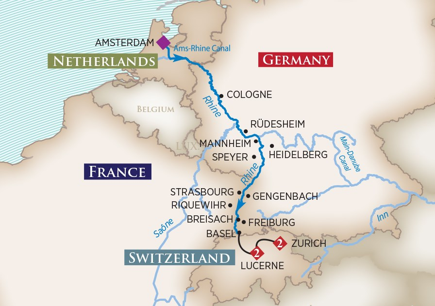 Rhine Christmas Cruise