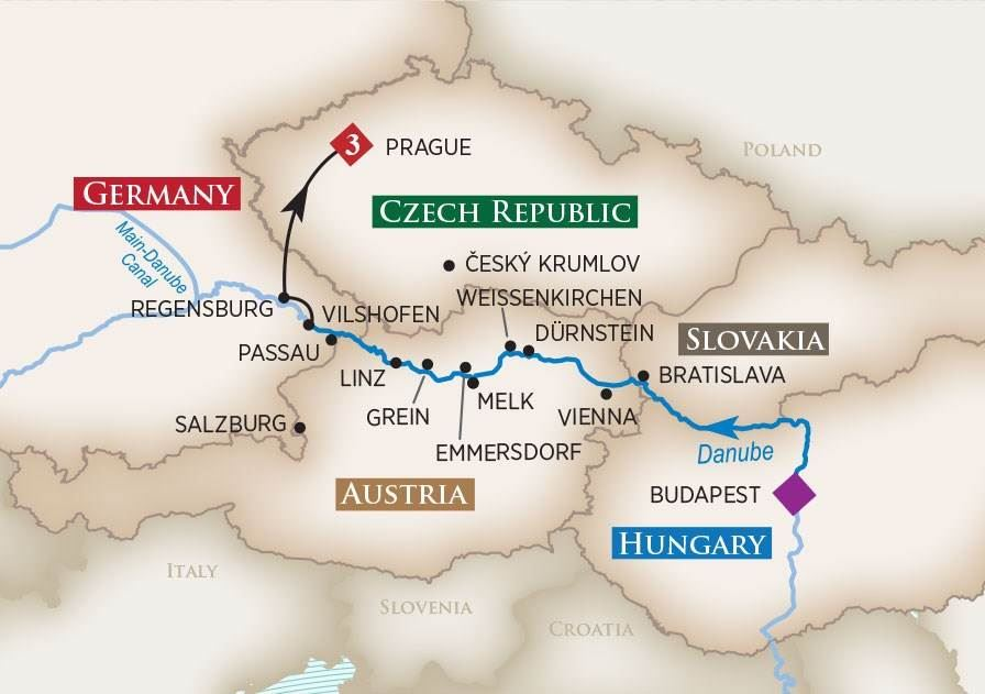 Melodies of The Danube River Cruise 2017  AmaWaterways