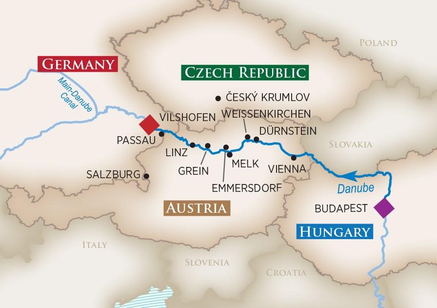 Melodies of The Danube Wine Cruise 2018 | AmaWaterways™