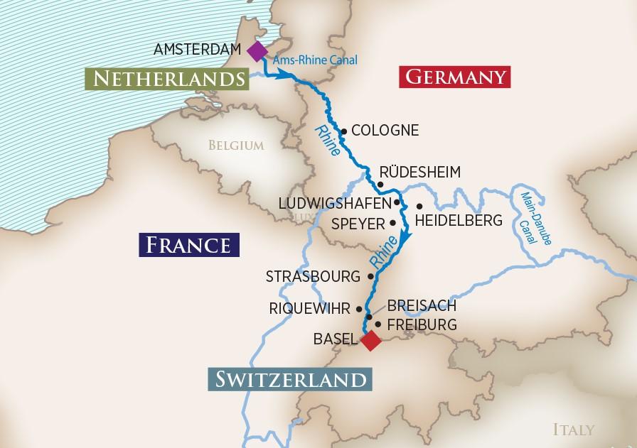 Captivating Rhine River Cruise