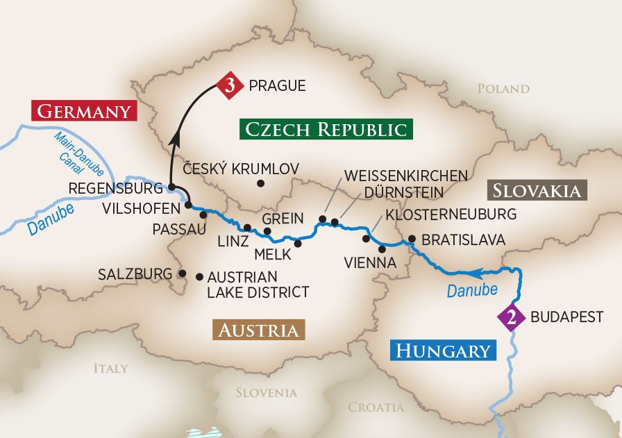 2020 Melodies Of The Danube River Cruise Amawaterways
