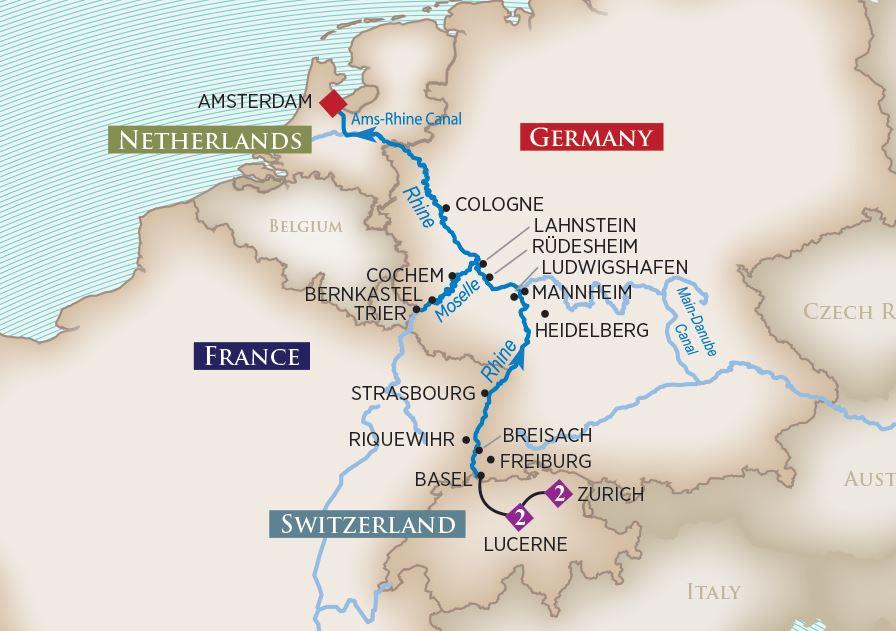 Ama River Cruises >> 2019 Rhine & Moselle Delights River Cruise | AmaWaterways™