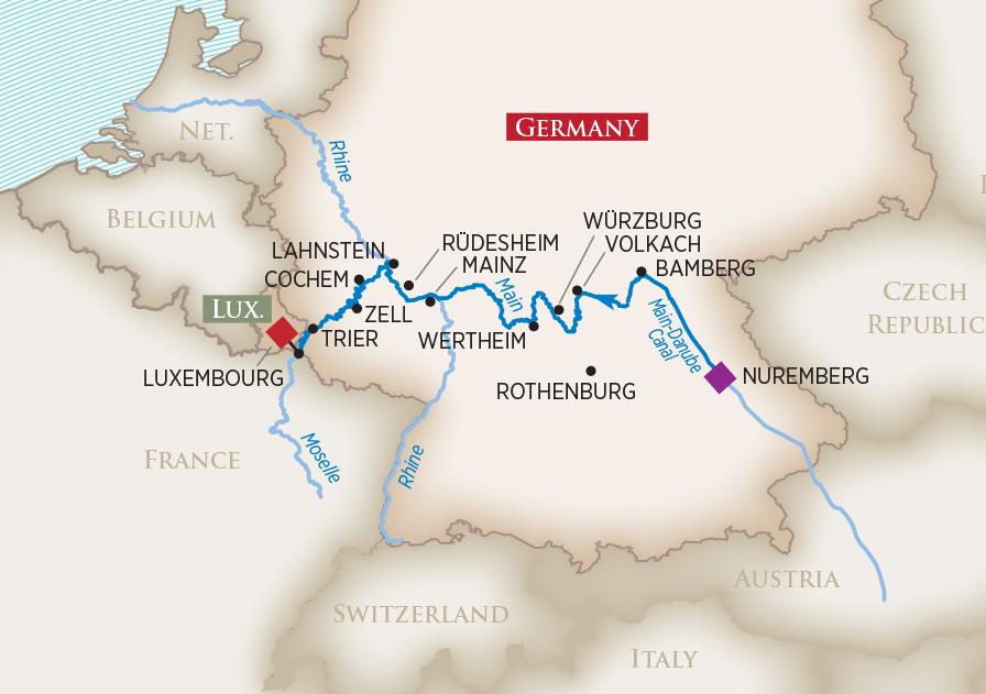2019 Europe S Rivers Castles Wine Cruise Amawaterways