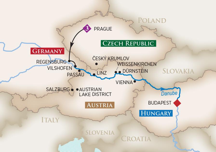2019 Romantic Danube Wine Cruise | AmaWaterways™