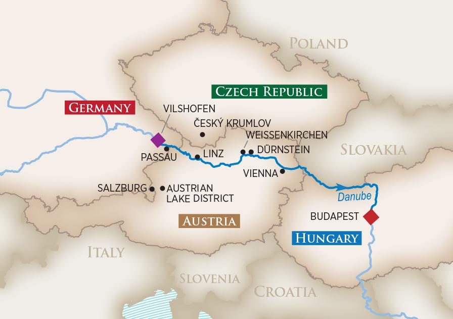 2019 Romantic Danube Wine Cruise   AmaWaterways™