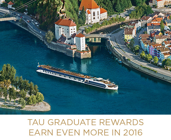 AmaWaterways Tau Graduate Rewards